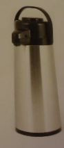 3.0 lt/101 oz Airpot, Push Button - Stainless Steel Lined