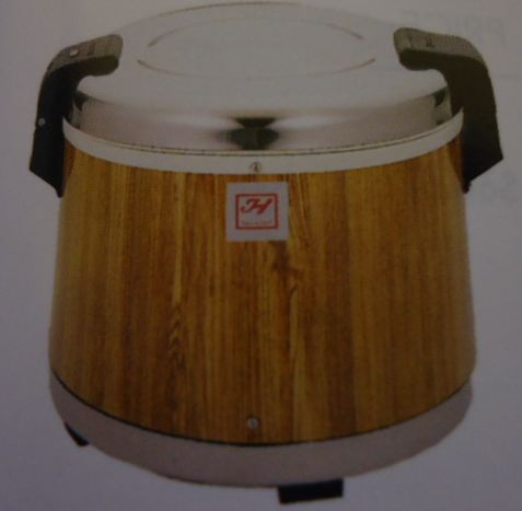 Electric Rice Warmers - Wood Grain, 30 cups