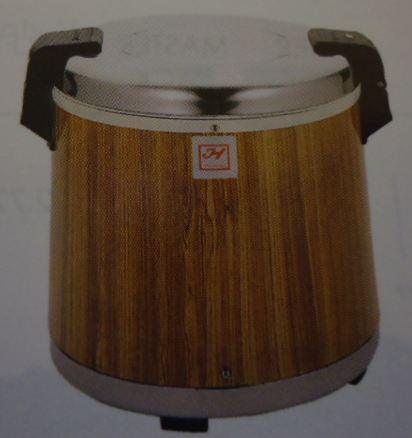 Electric Rice Warmers - Wood Grain, 50 cups